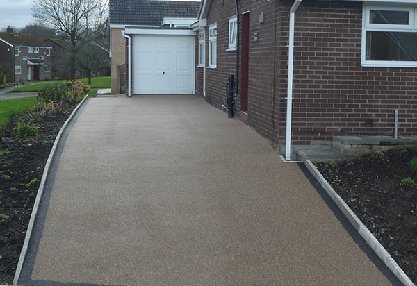Resin Driveway After Installation Photo