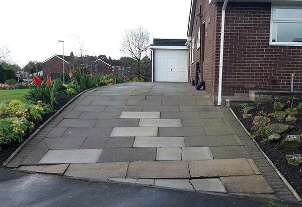 Resin Driveway Before Installation Photo