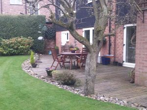Resin Patio Before Image - Bowden