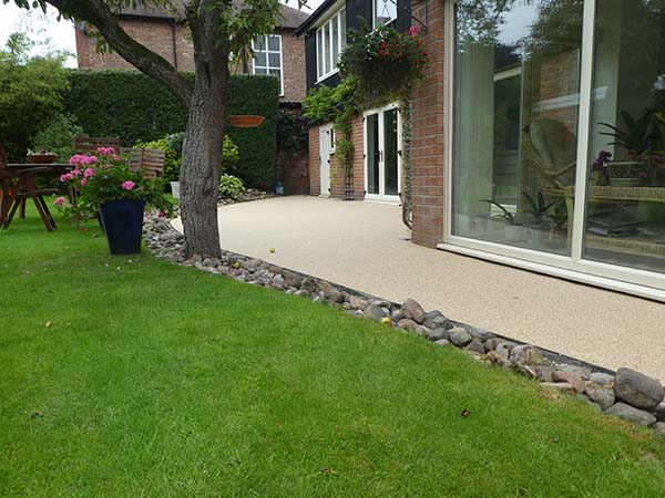 Resin Patio After Image - Bowden