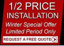 Half Price Winter Installation Offer